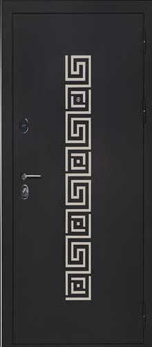 """Входная дверь """"Греция хром"""""""