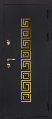 """Входная дверь """"Греция золото"""""""