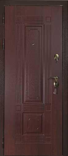 """Входная дверь """"Панель махагон"""""""