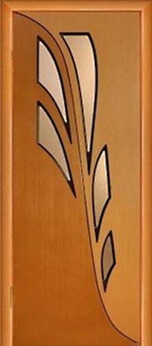 """Межкомнатная дверь """"Орхидея"""""""